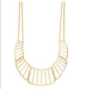 Torrid Gold Collar Statement Necklace